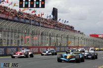 A winning start for Fisichella in Melbourne