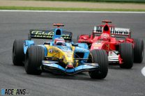 Alonso holds Schumacher back to claim narrow win