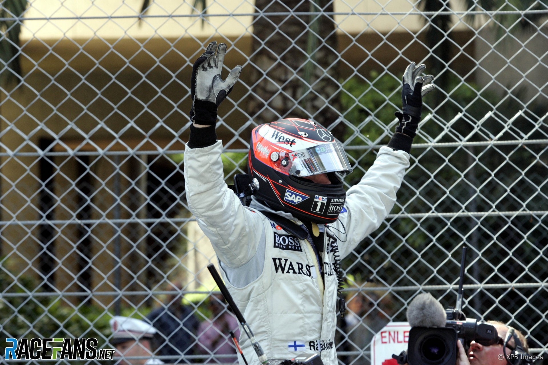 Kimi Raikkonen, McLaren, Monaco, 2005