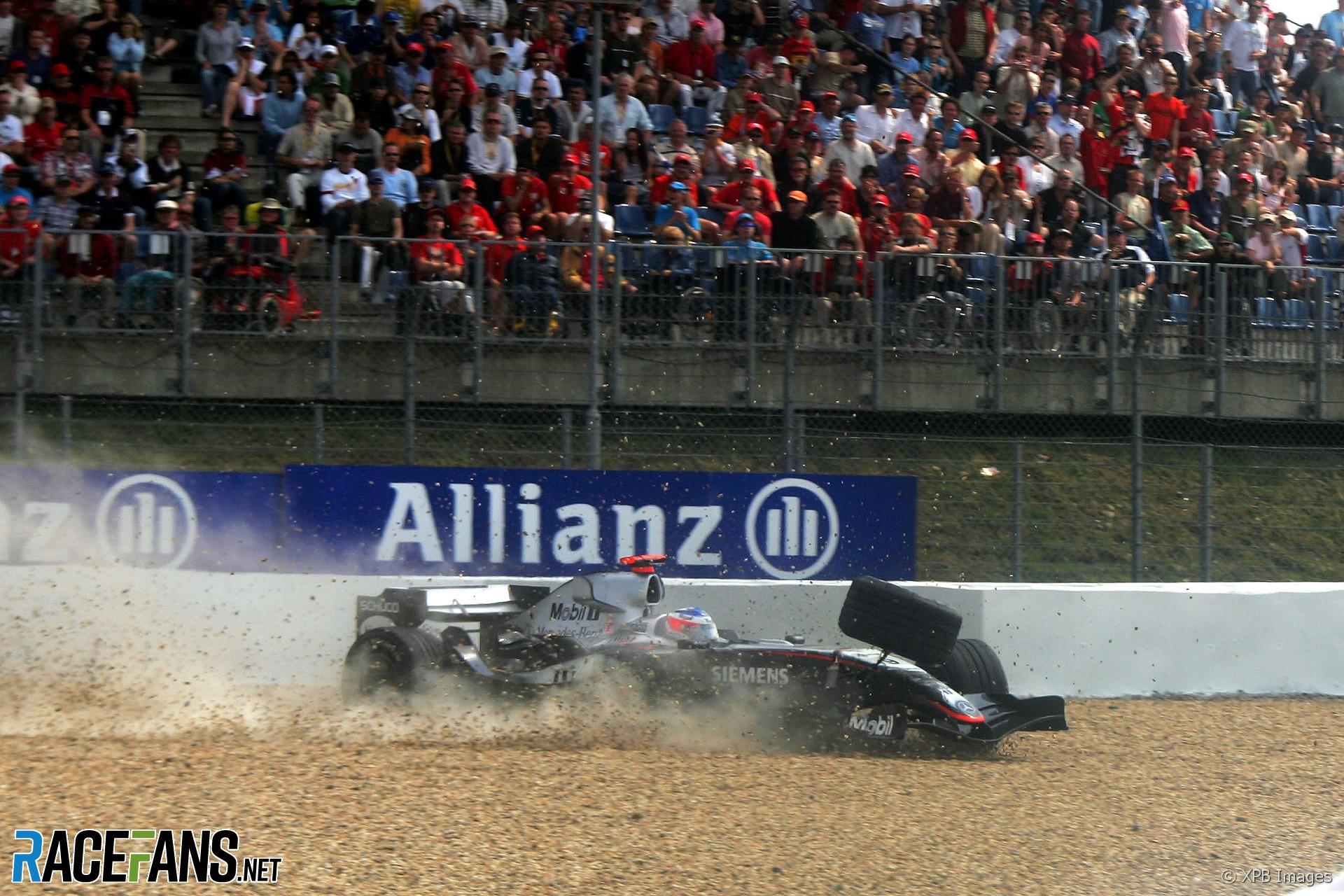 Kimi Raikkonen, McLaren, Nurburgring, 2005