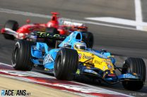 Alonso edges Schumacher to start title defence with victory