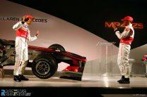 McLaren Mercedes MP4-25 Launch, 2010
