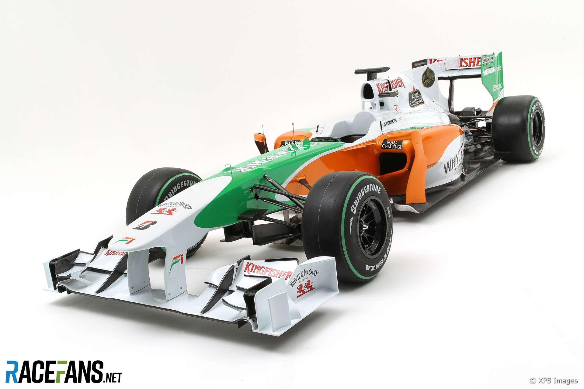 Force India VJM03 launch, 2010