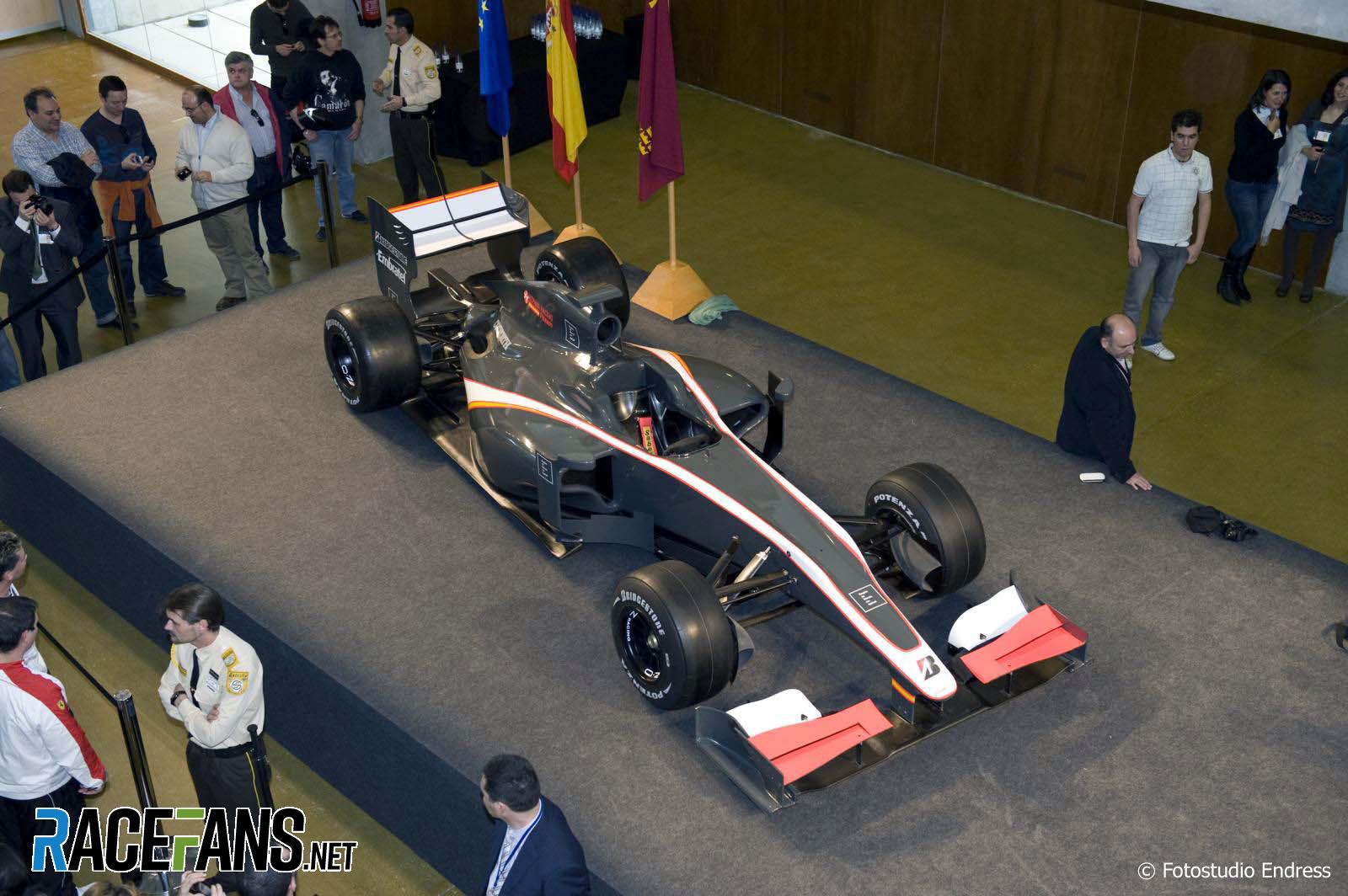 HRT F1 car launch, 2010