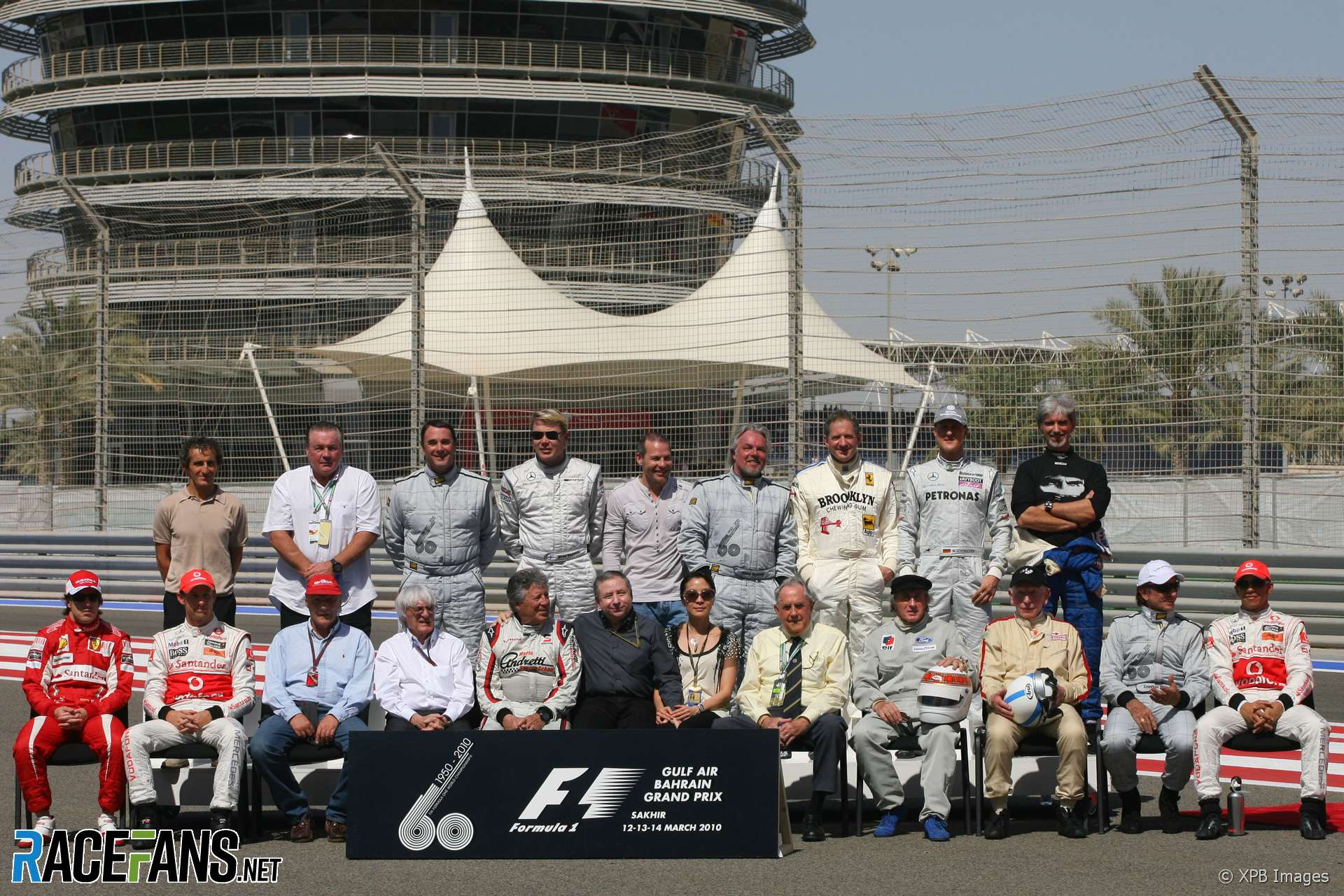 F1 world champions in Bahrain, 2010
