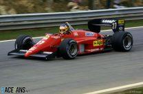 Michele Alboreto, Ferrari, Estoril, 1985