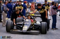 Ayrton Senna, Lotus, Estoril, 1985