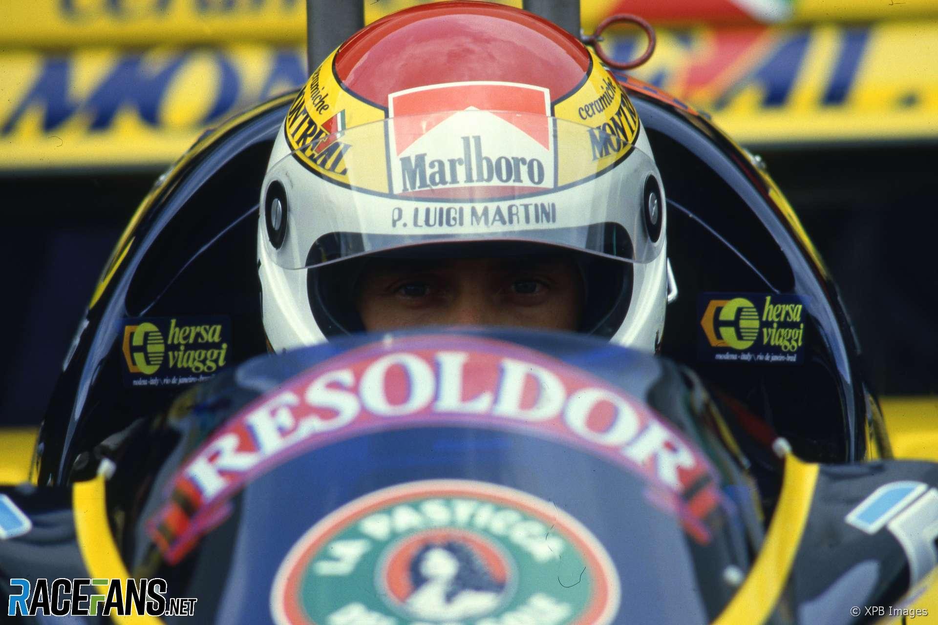 Pierluigi Martini, Minardi, Estoril, 1985