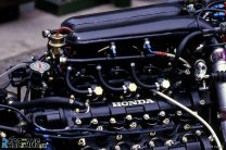 Williams FW10 Honda turbo engine, Estoril, 1985