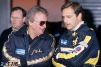 Elio de Angelis, Gerard Ducarogue, Lotus, Estoril, 1985