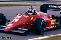 Stefan Johansson, Ferrari, Estoril, 1985