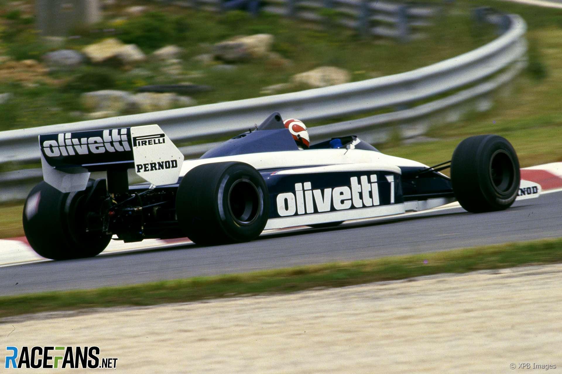 Nelson Piquet, Brabham, Estoril, 1985