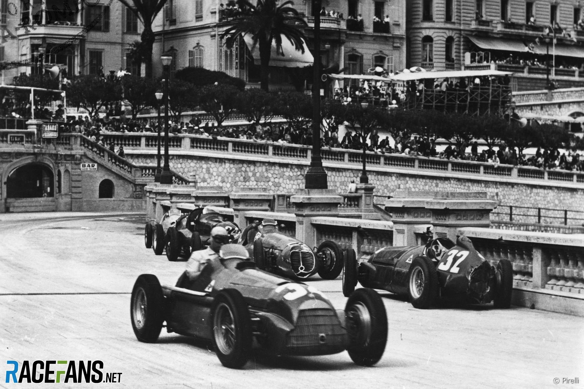 Juan Manuel Fangio, Alfa Romeo, Monaco, 1950