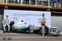 Mercedes W02 launched: first pictures