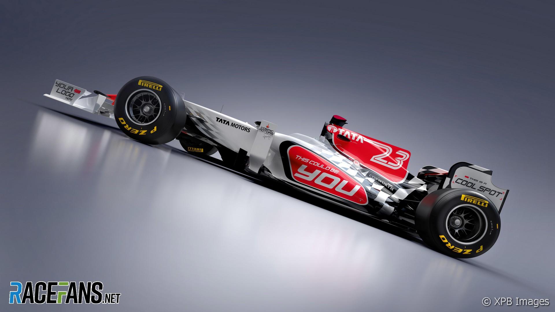 HRT Formula 1 Teams Background 6