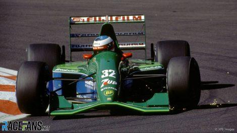Michael Schumacher, Jordan, Spa-Francorchamps, 1991