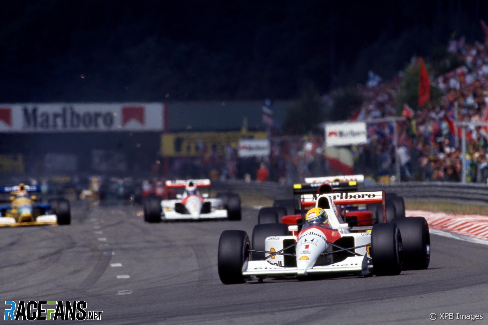 Ayrton Senna, McLaren, Spa-Francorchamps, 1991