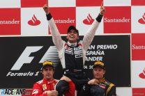 Maldonado ends Williams' eight-year wait for a win