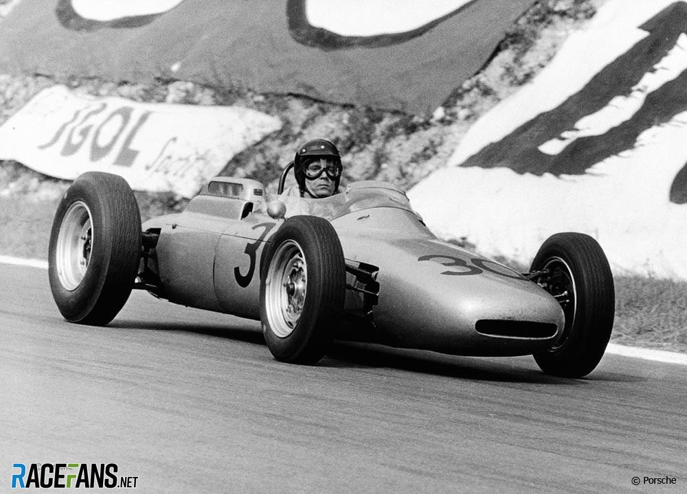 Dan Gurney, Porsche, Rouen-les-Essarts, 1962