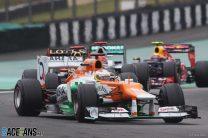 Paul di Resta, Force India, Interlagos, 2012