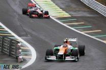 Nico Hulkenberg, Jenson Button, Interlagos, 2012