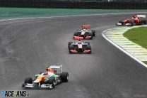 "Hulkenberg's missed win should have been ""high point"" for Force India"