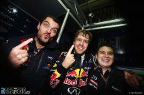 Guillaume Rocquelin, Sebastian Vettel, Tim Malyon, Red Bull, Interlagos, 2019