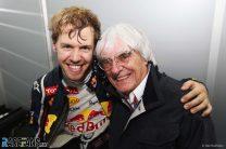 Sebastian Vettel, Bernie Ecclestone, Interlagos, 2019