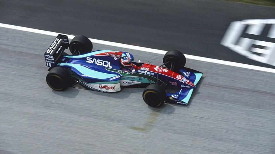 Barrichello survives horror crash as F1's darkest weekend begins