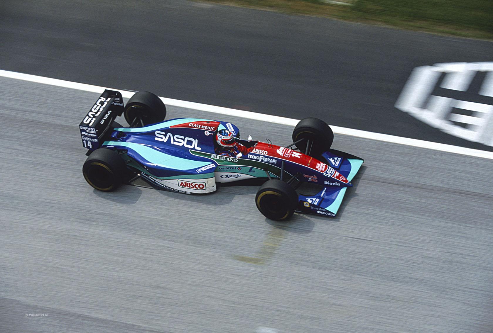 Rubens Barrichello, Jordan, Imola, 1994