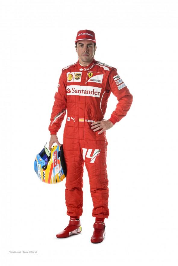 Fernando Alonso, Ferrari, 2014