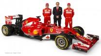 Fernando Alonso, Stefano Domenicali, Kimi Raikkonen, Ferrari F14 T, 2014
