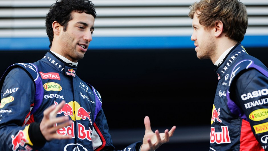 Caption Competition 44: Vettel and Ricciardo
