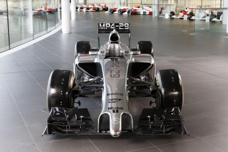 McLaren MP4-29, front, 2014