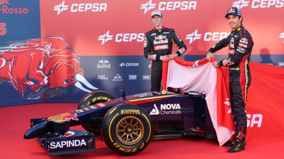 Toro Rosso STR9, Jerez, 2014