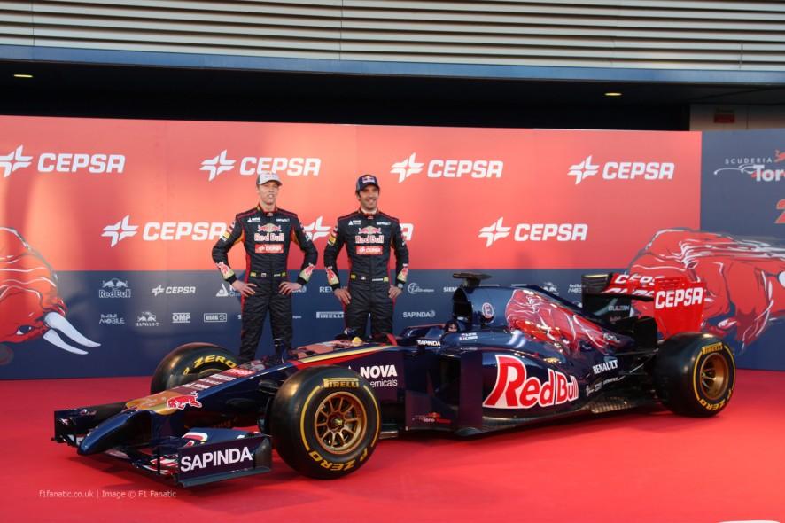 Daniil Kvyat, Jean-Eric Vergne, Toro Rosso STR9, Jerez, 2014