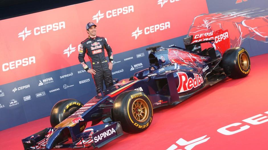 Jean-Eric Vergne, Toro Rosso STR9, Jerez, 2014