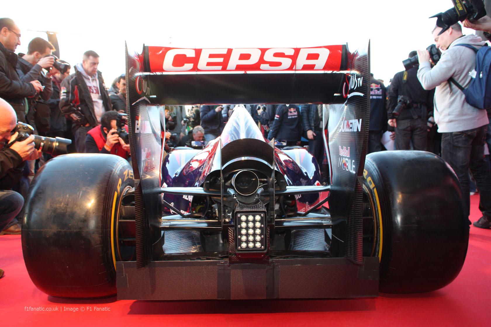 Toro Rosso STR9 rear, Jerez, 2014