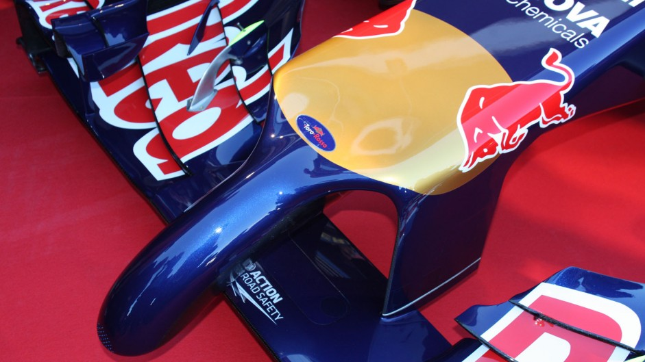 Toro Rosso STR9 nose, Jerez, 2014
