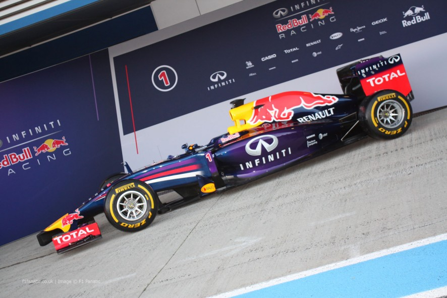 Red Bull RB10, Jerez, 2014