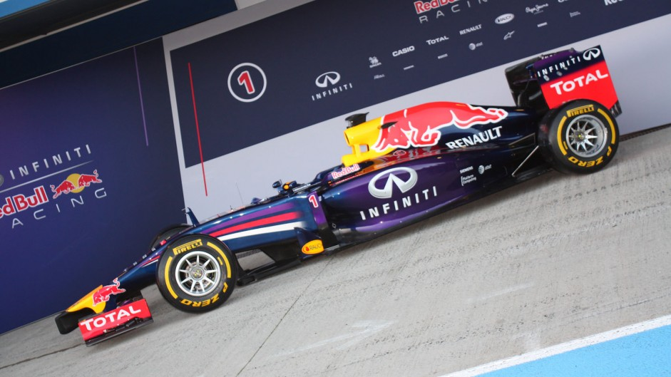 Red Bull RB10: First pictures