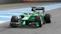 Caterham CT05, Jerez, 2014