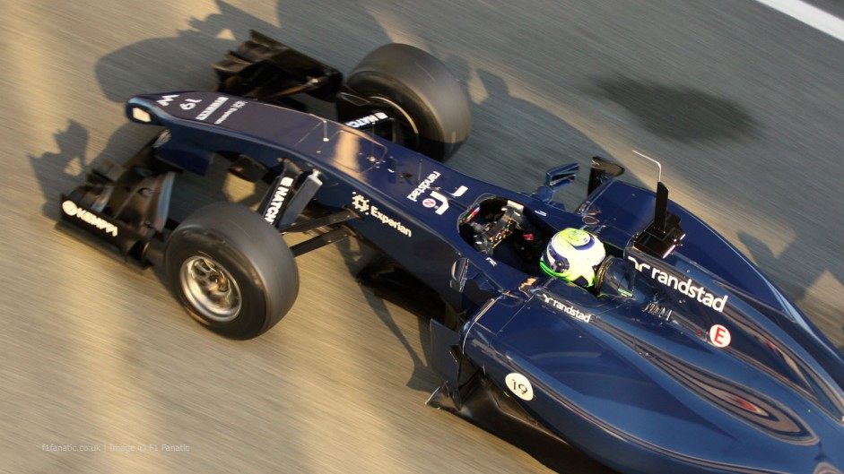 Massa on top for Williams on damp final day