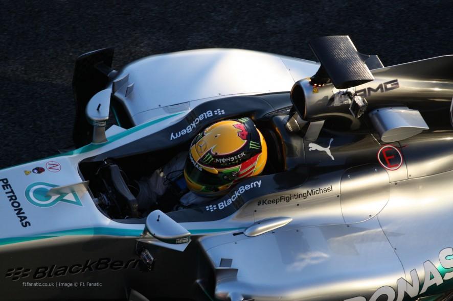 Lewis Hamilton, Mercedes, Jerez, 2014