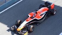 Marussia MR03, Jerez, 2014