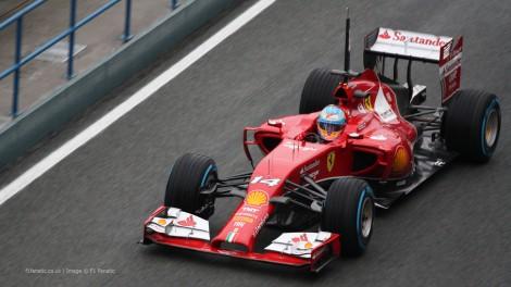 2014 F1 Ferrari 8