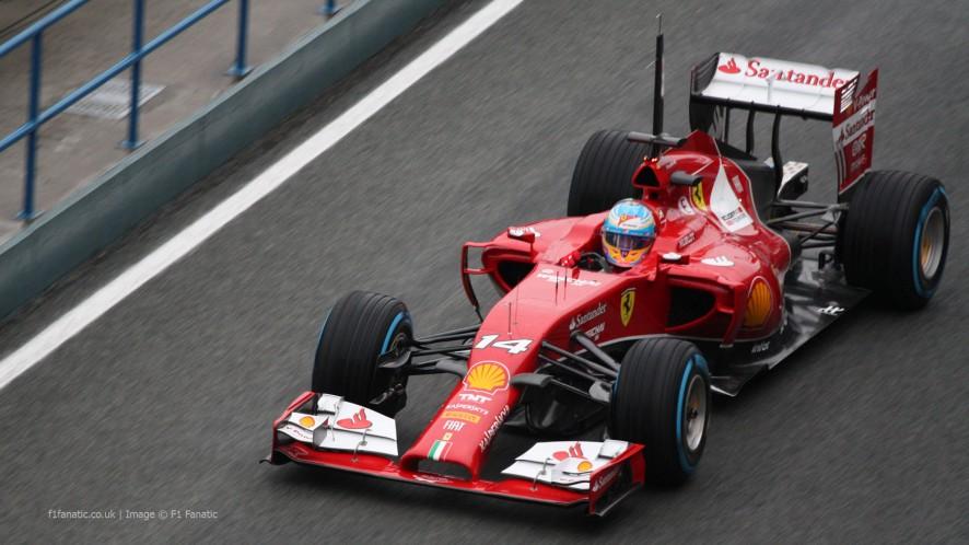 Fernando Alonso, Ferrari, Jerez, 2014
