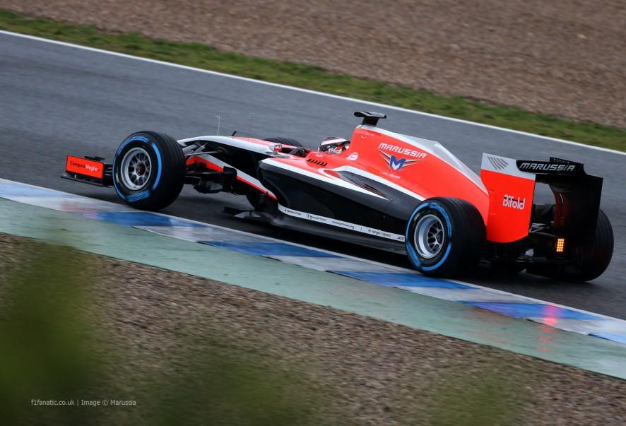 Jules Bianchi, Marussia, Jerez,2014