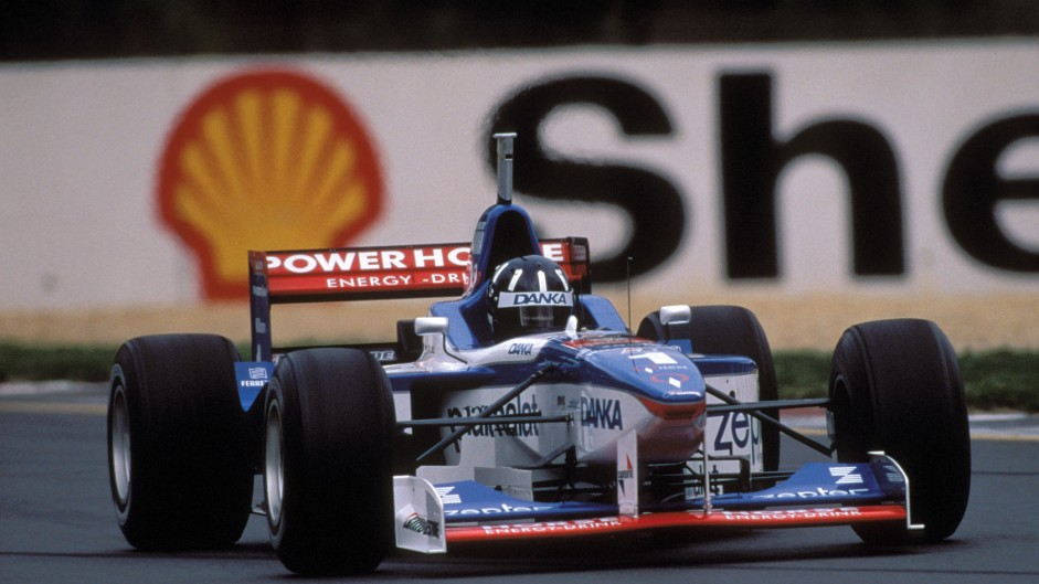Damon Hill, Arrows A18, Melbourne, 1997