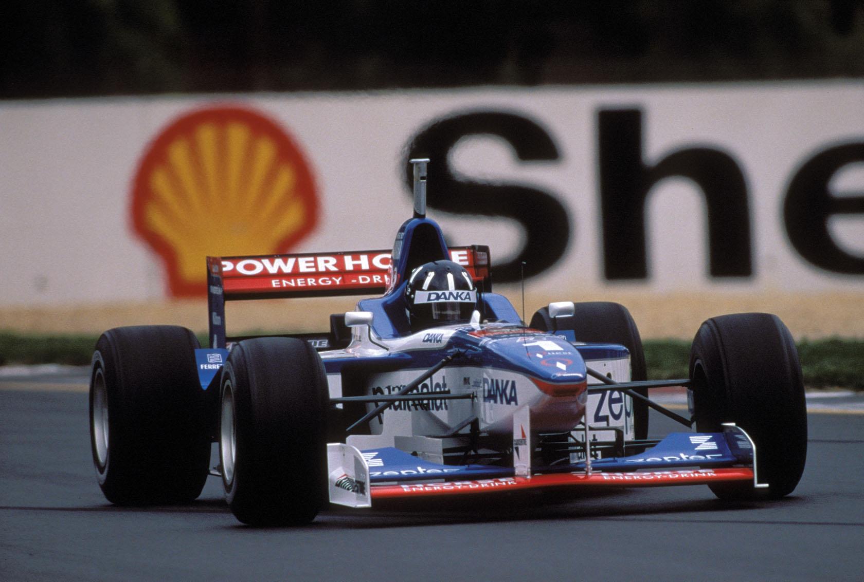 Damon Hill  Arrows A18 Melbourne 1997